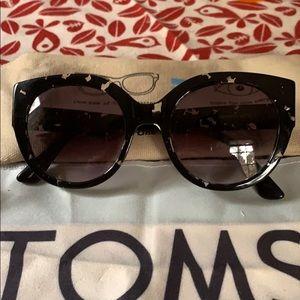 TOMS Luisa Black Speckle Glasses